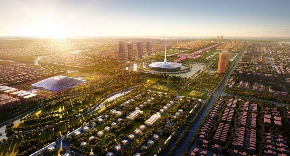 La ciudad sostenible de Foster + Partners. Proyecto Amaravati