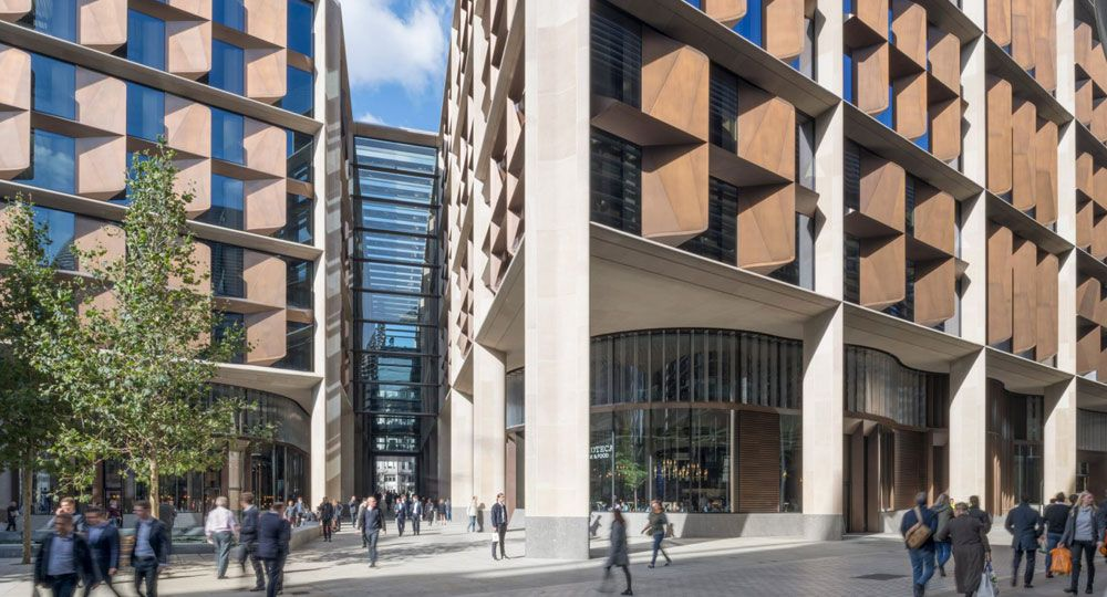 La nueva sede Bloomberg en Londres. Estudio de arquitectura Foster+Partners
