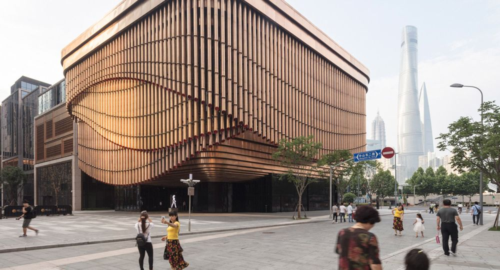 Auditorio Fosun Foundation. Arquitectos Foster + Partners y Heatherwick Studio
