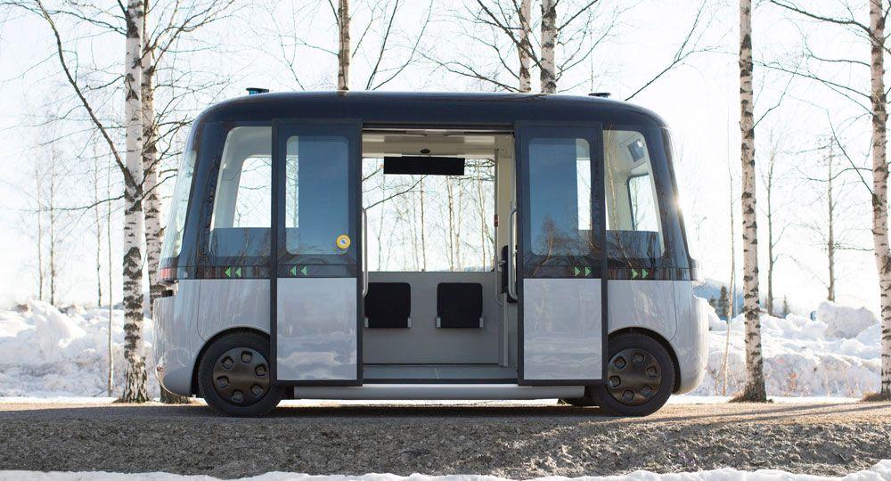 Gacha Bus. Transporte público sin chofer de MUJI