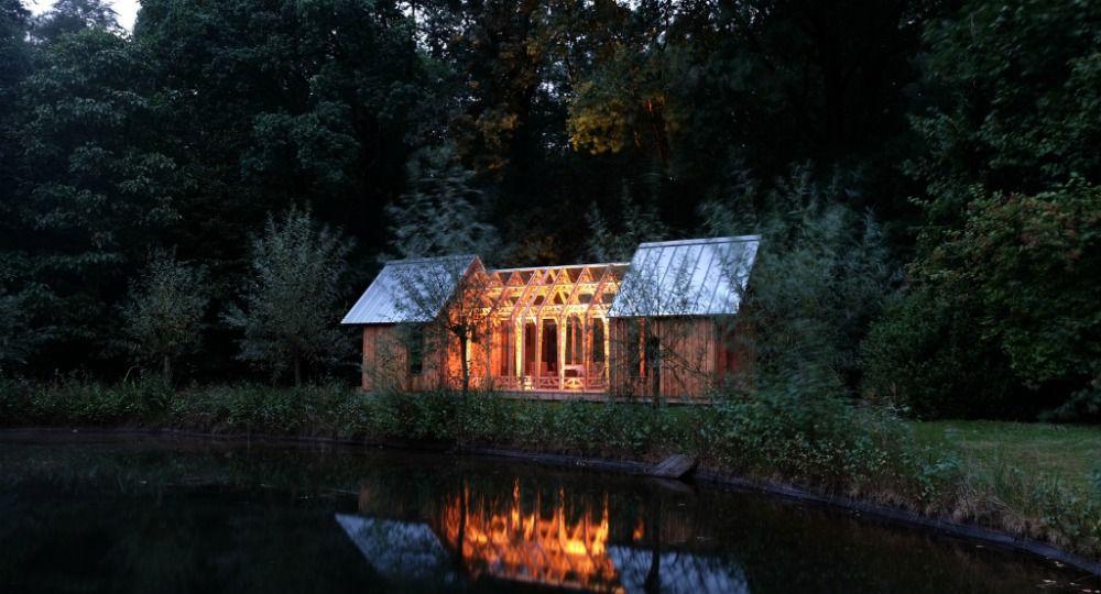 Arquitectura en vidrio y madera. La Casa Jardín de Caspar Schols