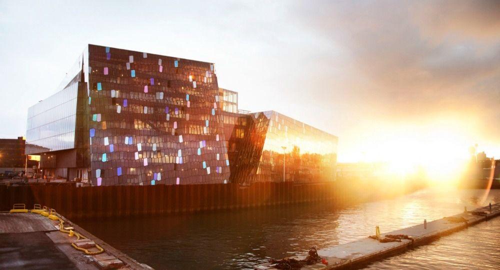 Proyecto HARPA. Henning Larsen Architects & Batteriid Architects