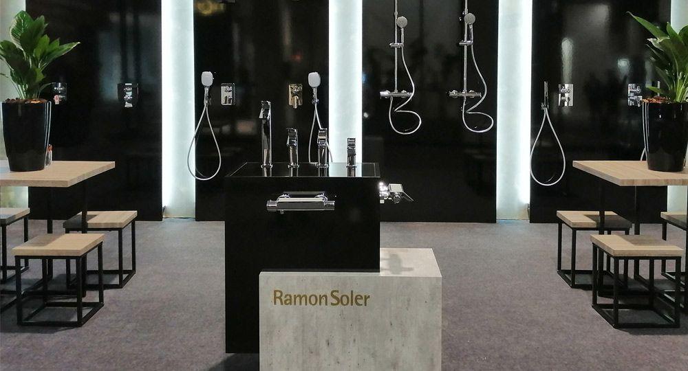 Ramon Soler expone en la feria de en Frankfurt ISH 2019. Nueva colección Ramon Soler