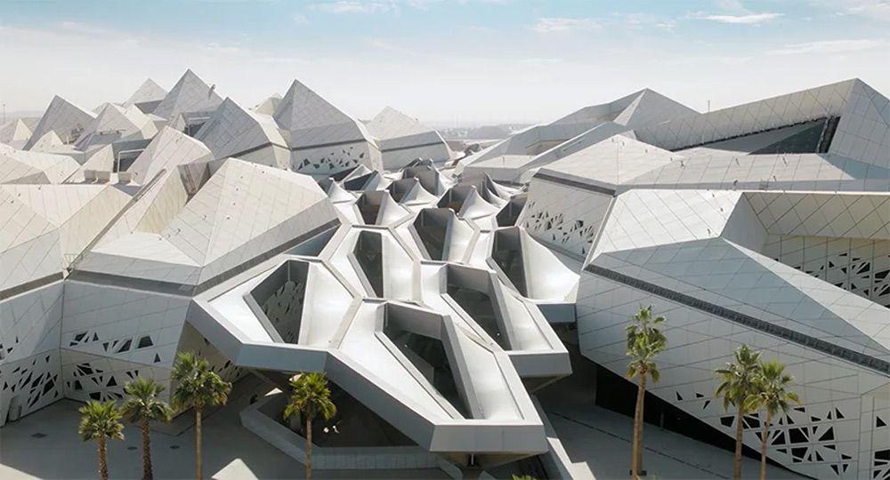 Proyecto Centro de Investigación  KAPSARC. Zaha Hadid Architects