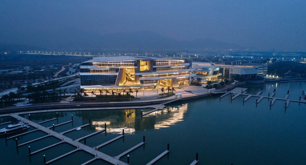 Proyecto Keppel Cove Marina and Clubhouse de UNStudio