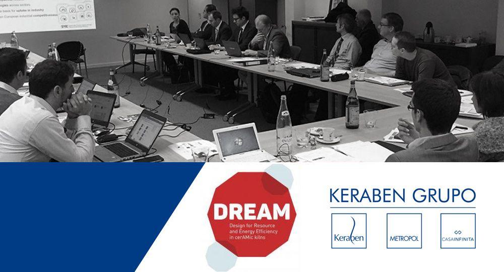 Keraben Grupo reúne a 20 investigadores del proyecto europeo Dream en sus instalaciones
