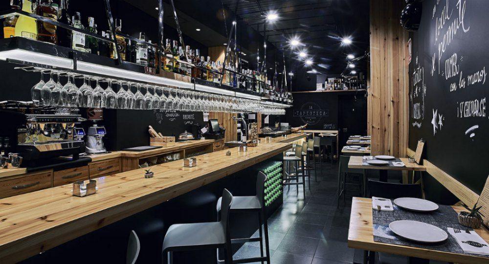 La Tapeoteca. Arquitectura de Gourmet