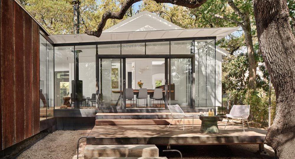 Proyecto LeanToo de Nick Deaver Architects. Arquitectura anexa