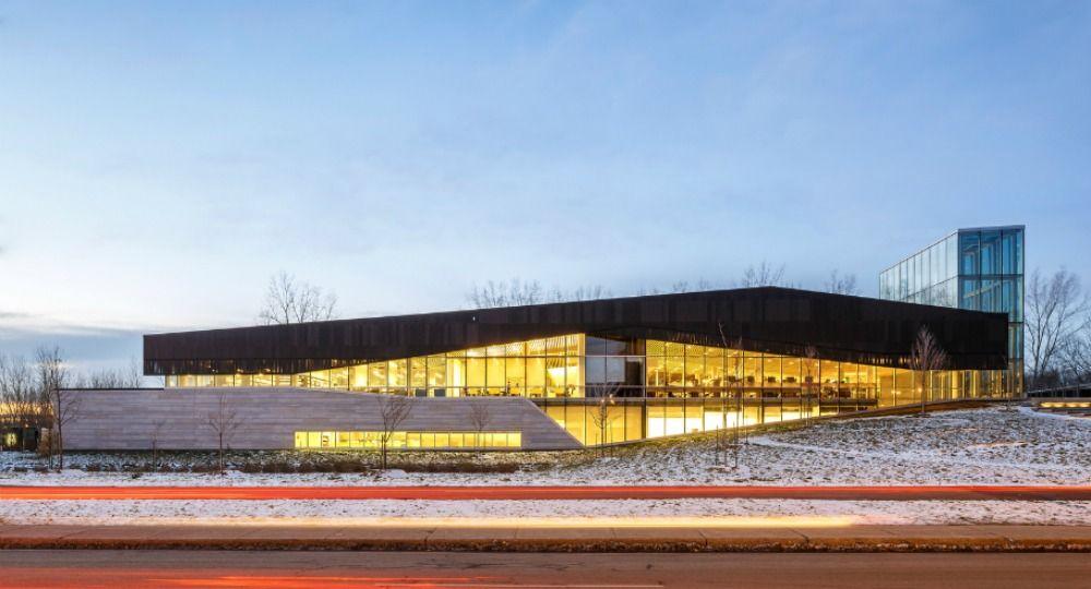 Montreal's Bibliothèque du Boisé. LEMAY arquitectos
