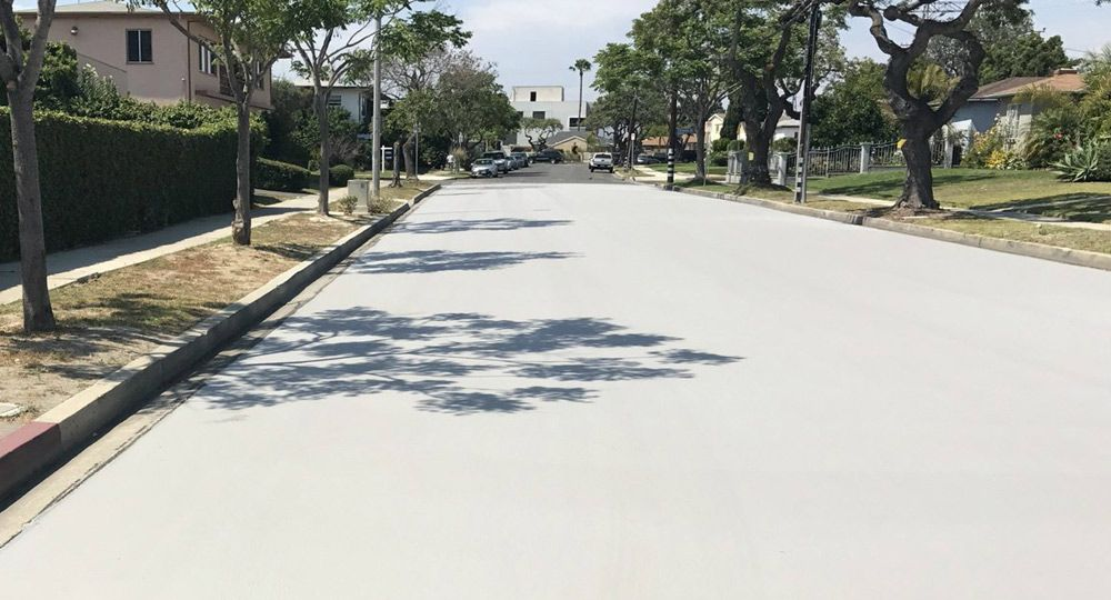 Calles blancas en Los Ángeles. Diseño urbano en contra del Calentamiento Global