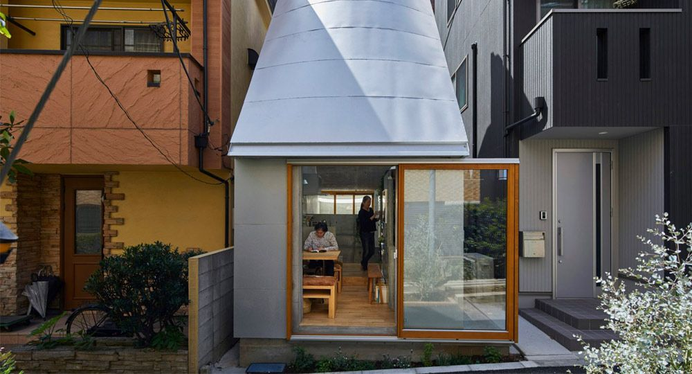Love2 House de Takeshi Hosaka. Mini vivienda en Tokio