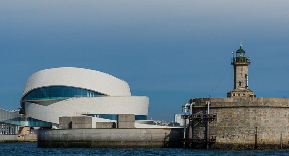Terminal de cruceros de Oporto. Arquitecto Luís Pedro Silva
