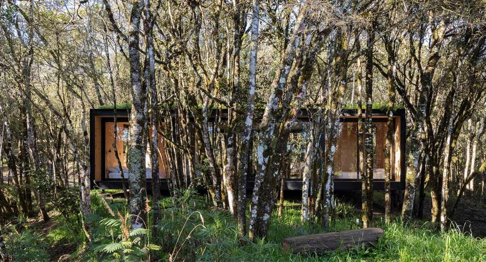 Proyecto Minimod Curcaca de MAPA arquitectos. Viviendas prefabricadas en Brasil