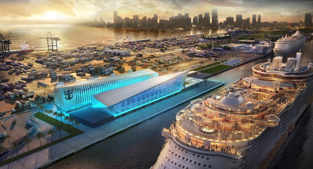Miami Cruise Terminal. Broadway Malyan Arquitectos