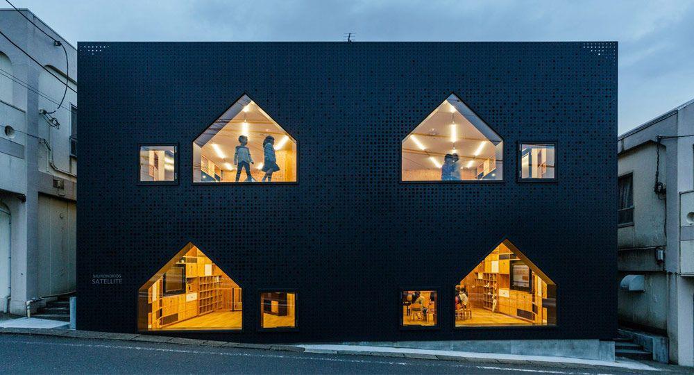 Guardería MK-S en Yokohama.  Arquitectura infantil de Hibinosekkei + Youji no Shiro