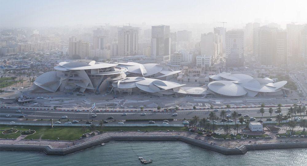 Museo Nacional de Qatar por Jean Nouvel finalmente abre sus puertas