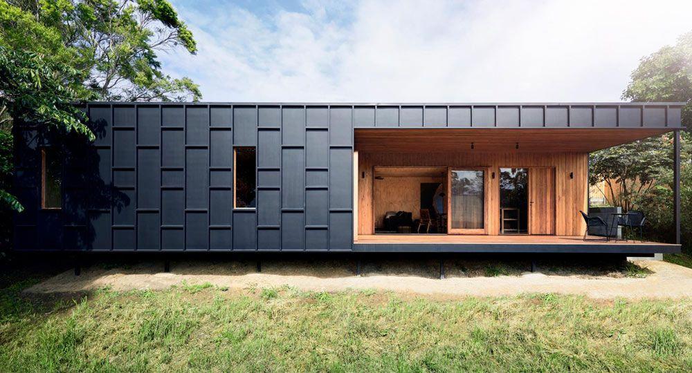 Arquitectura Zero Waste. Vivienda sostenible OCM House de Studio Jackson Scott