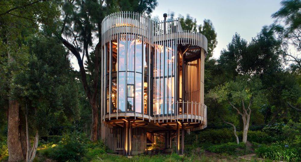 Casa en el árbol Paarman. Malan Vorster arquitectos