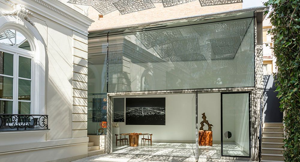 Fundaci n norman foster madrid arquitectura para eventos for Estudios arquitectura madrid