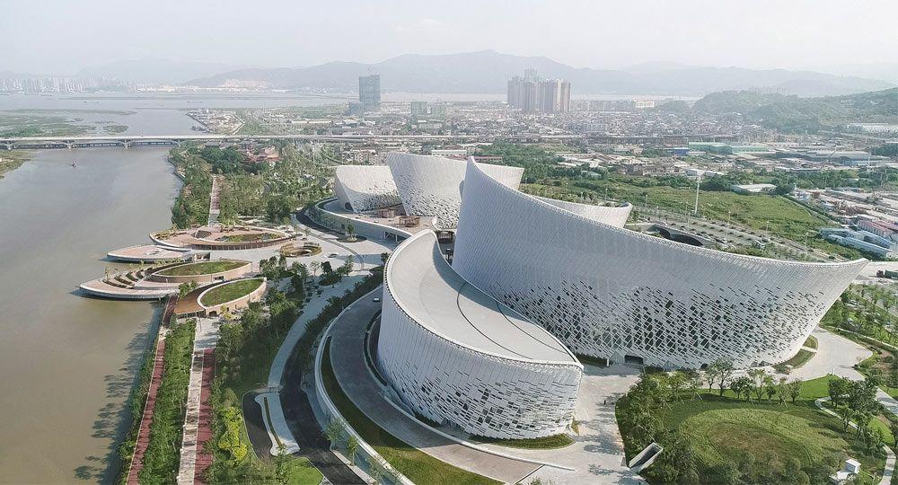 PES Architects diseñan el Centro arte y Cultural del Estrecho de Fuzhou
