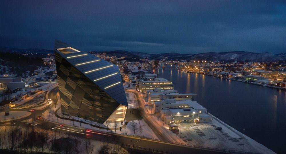Snøhetta Arquitectos. Proyecto Powerhouse Telemark
