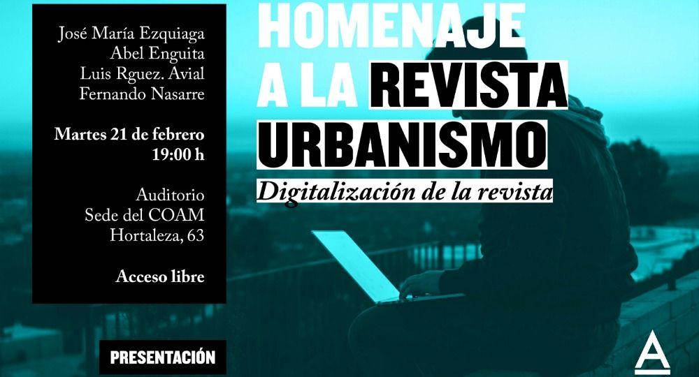 Revista Urbanismo COAM. Arquitectura y urbanismo en la web