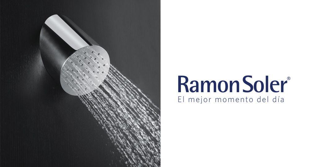 Rociador RIR de Ramon Soler. Diseño minimalista, geometría y relax