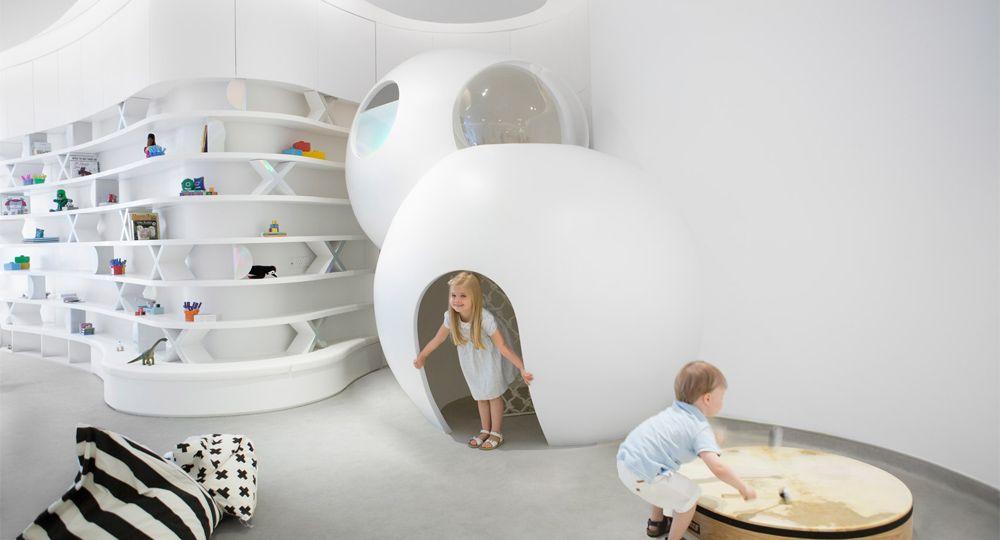 La guardería del futuro se encuentra en Dubai. Roar arquitectos