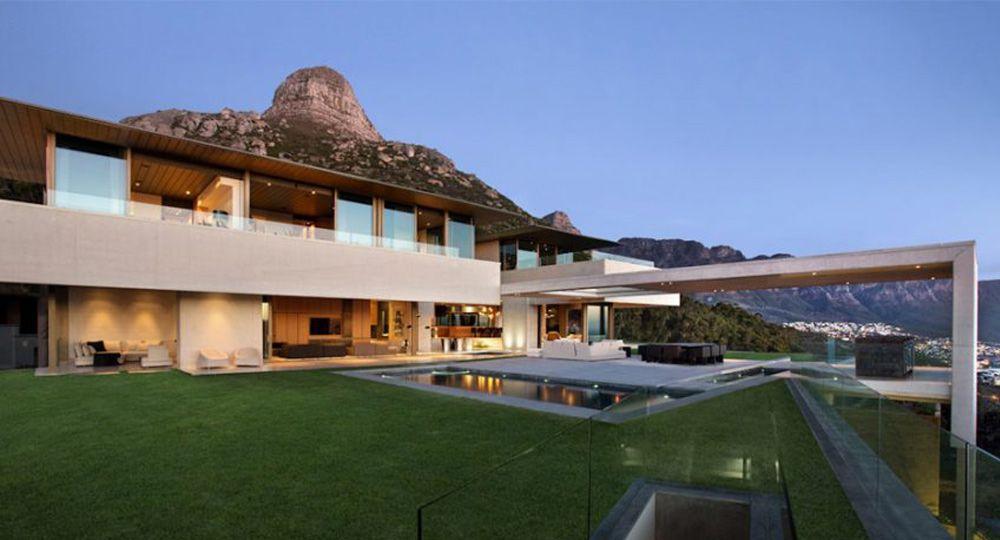 Grandes residencias de verano. Proyecto OVD 919, arquitectura galardonada en Sudáfrica