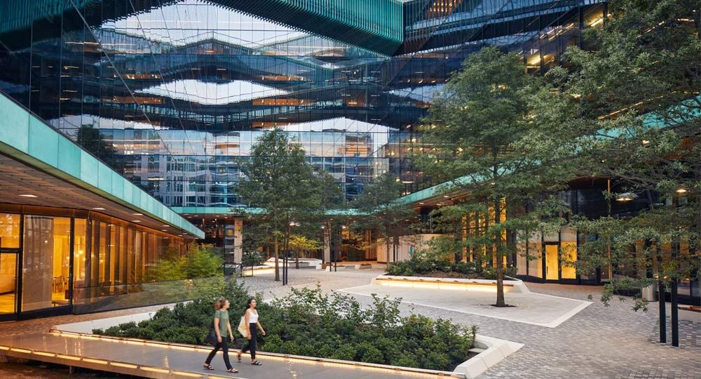 Oficinas de cristal en Washington. Proyecto Midtown Center por Shop Architects