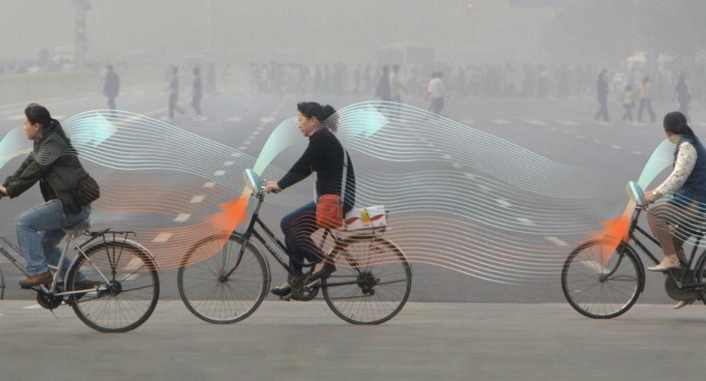 Bicicletas Antipolución. Daan Roosegaarde