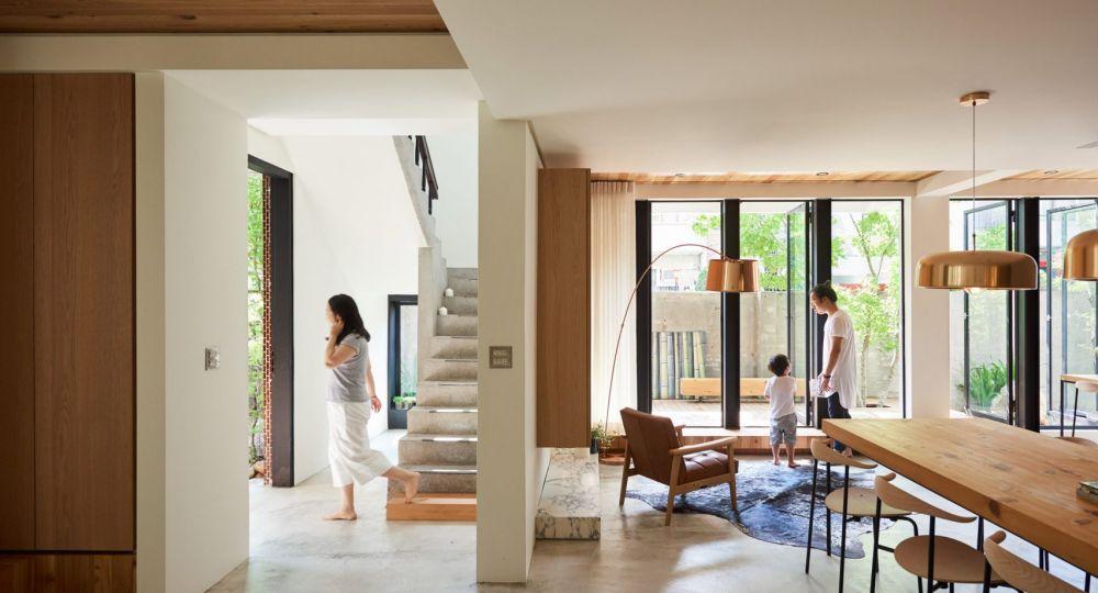 Casa taiwanesa abierta al exterior, renovada por el estudio de arquitectos Soar Design