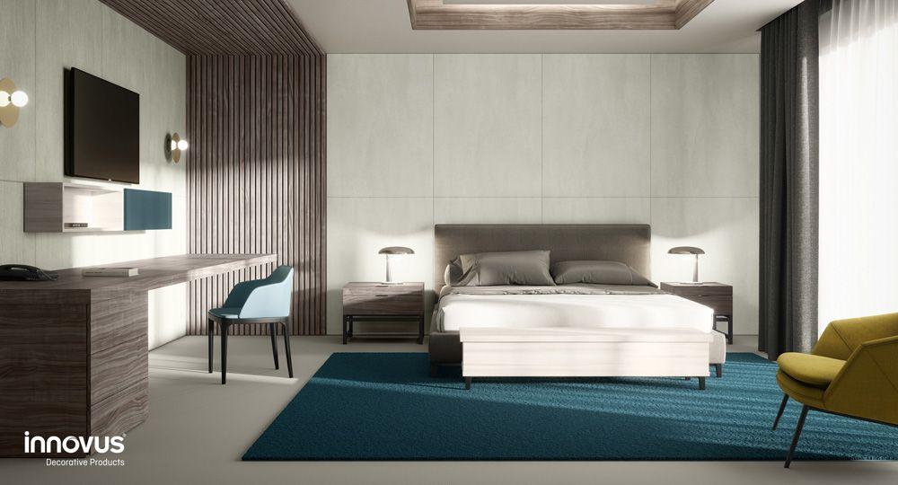 Sonae Arauco, madera, arquitectura y diseño. Nueva colección Innovus presentada en Interzum