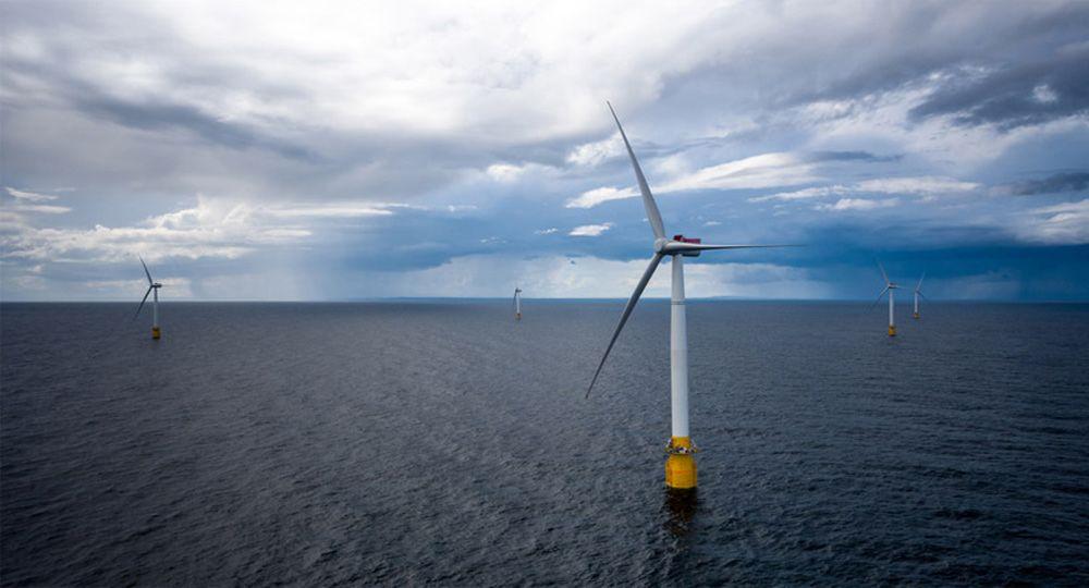 Parque Eólico Hywind. Tecnología y energía verde en el mar