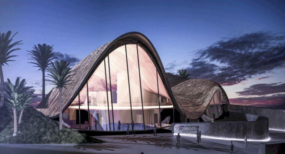 Arquitectura de paja. Pabellón Straw Valley