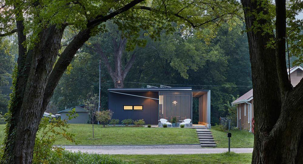 Arquitectura autosuficiente. Studio 804 diseña una vivienda con materiales recuperados