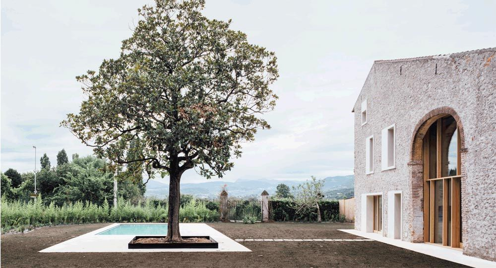 Arquitectura rural actualizada a la italiana. Studio Wok