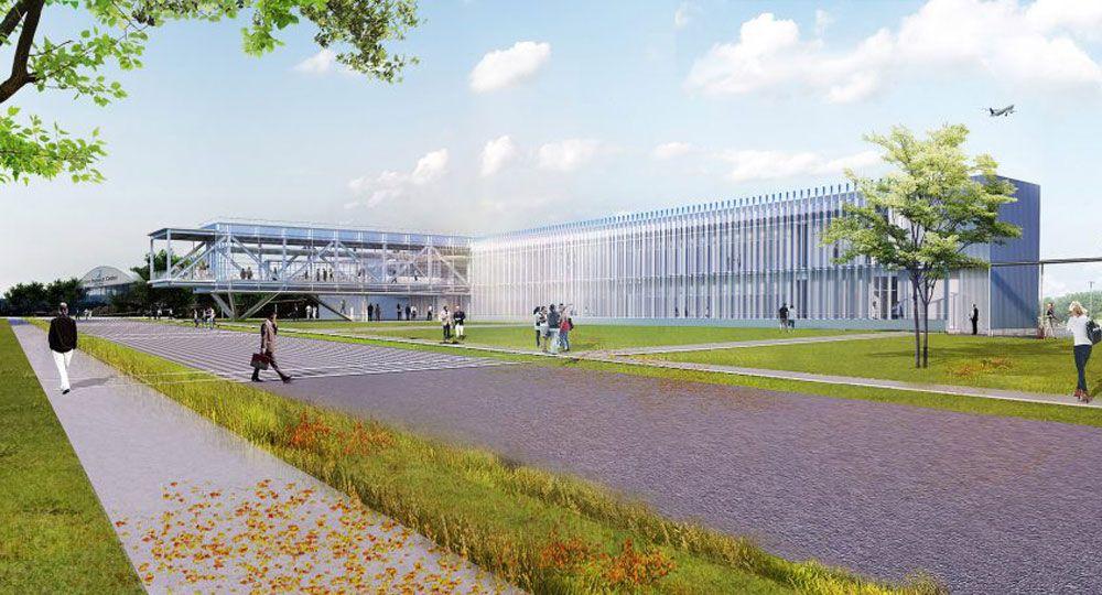Centro de investigación NASA diseñado por TEN Arquitectos