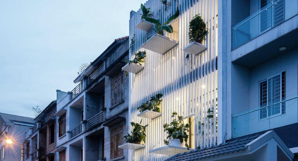 Th House Fachada De Dise O Por Danstudio Arquitectura
