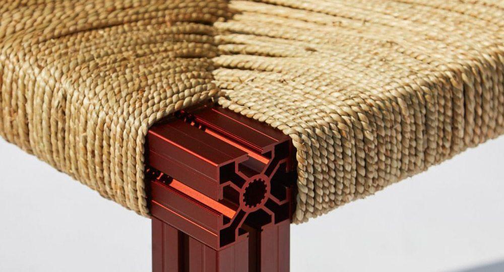 Colección Anodised Wicker. Contraste entre lo tradicional y el diseño moderno