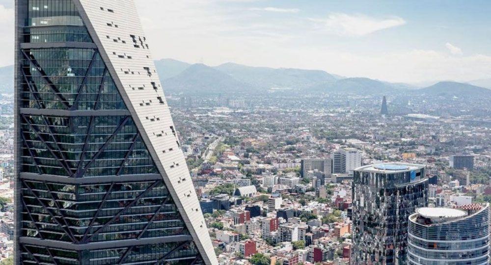 El mejor rascacielos del mundo. Torre Reforma del arquitecto Benjamín Romano