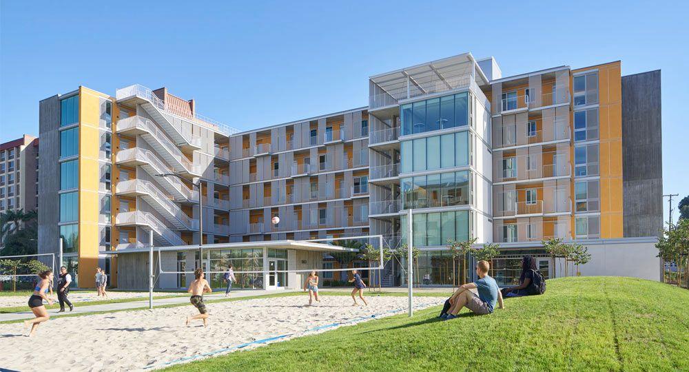 SOM Architects. Torres residenciales Tenaya  para estudiantes