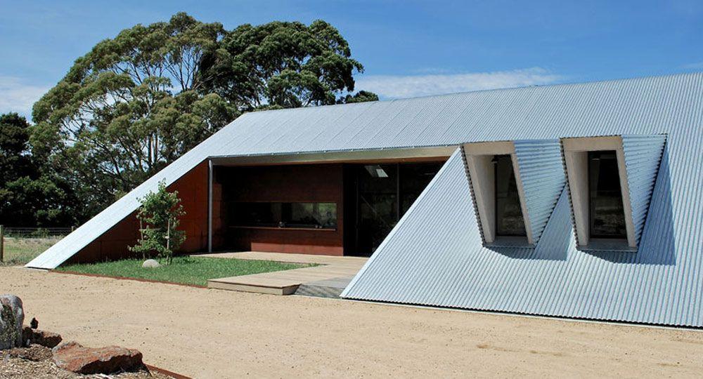 Tucks Ridge House.  Arquitectura  rural  australiana de Adrian Bonomi