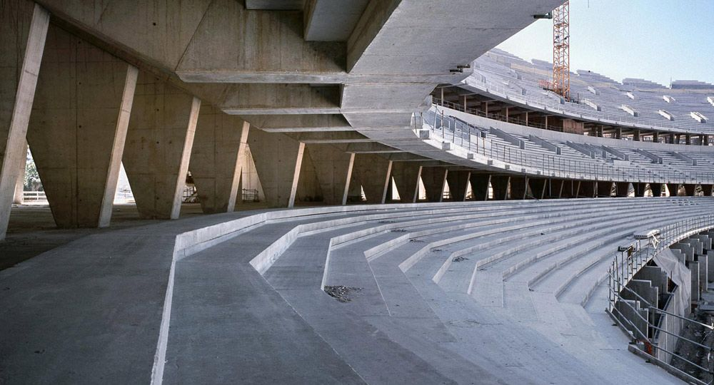 Nuevo estadio de futbol Valencia CF. Fenwick Iribarren Architects