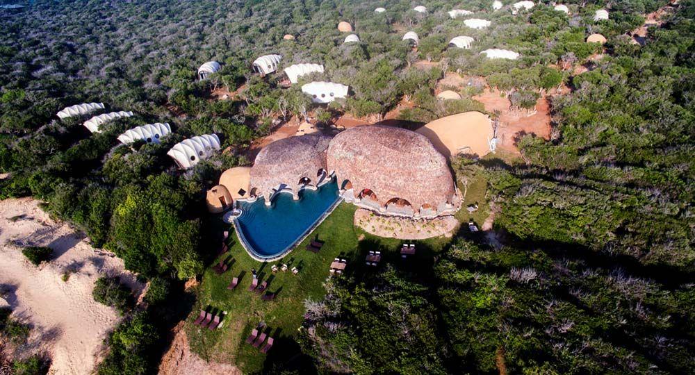 Hotel de ensueño en Sri Lanka. Wild Coast Tented Lodge de Nomadic Resorts arquitectos