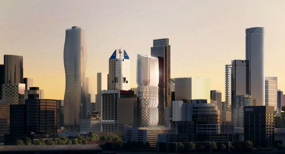 Zaha Hadid Architects. Mandarin Oriental Hotel en Melbourne