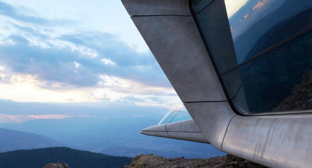 Zaha Hadid Architects. Museo Messner Mountain