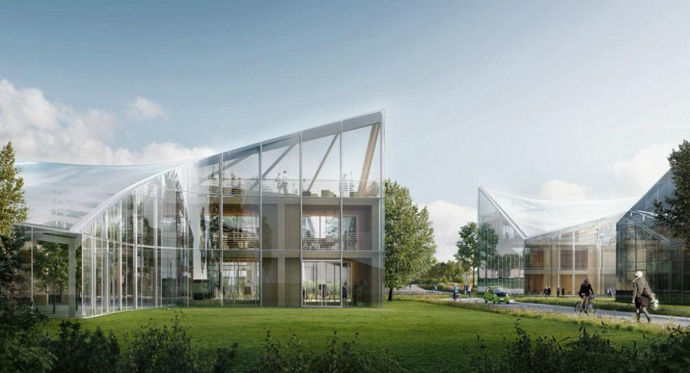 Parque tecnológico, ecológico y deportivo. Zaha Hadid Architects