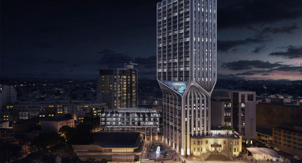 Primeras imágenes del nuevo proyecto del estudio ZHA: Mercury Tower