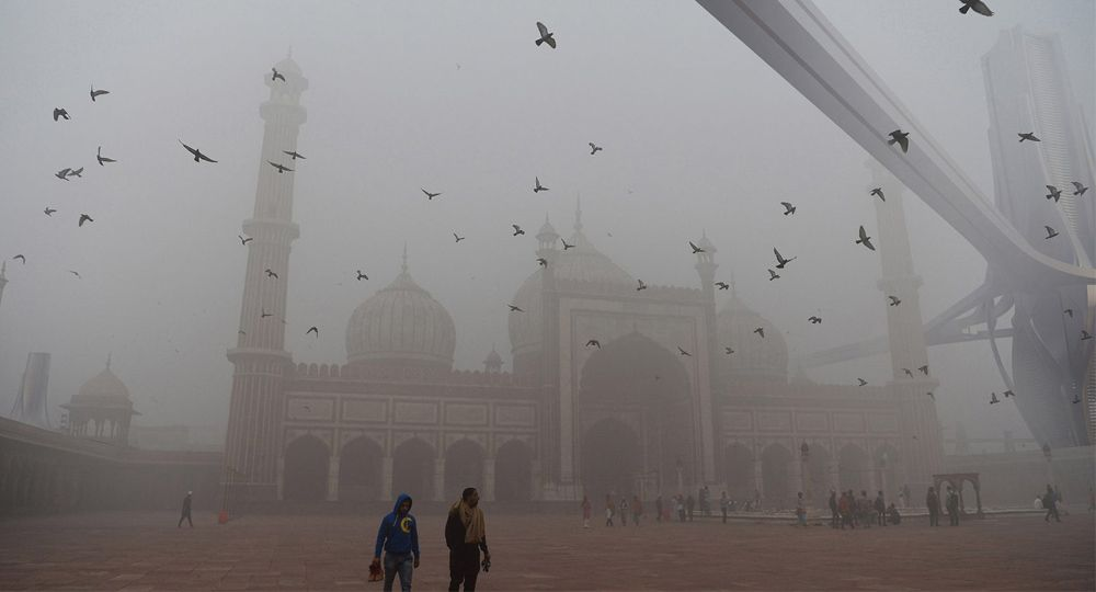 Smog Project. Arquitectura por el medio ambiente de Znera